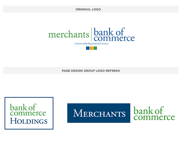 Merchants Bank of Commerce logo
