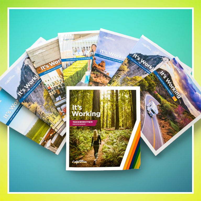 Visit California 7 publications